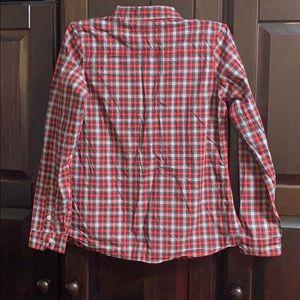OshKosh B'gosh Shirts & Tops - Girls Plaid Button Down Shirt